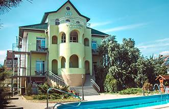 Отель «Золотая рыбка» в Мелекино